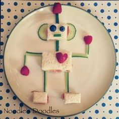 Fun food: robot