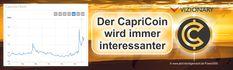 Der CapriCoin wird interessant in der Kryptowährungsbranche
