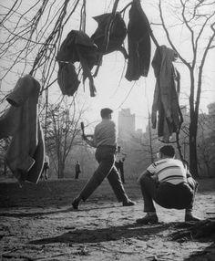 Central Park, 1948