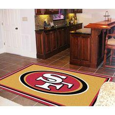San Francisco 49ers NFL Floor Rug