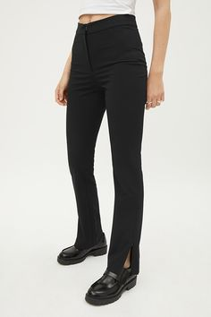 Alecia Trousers - Grey - Trousers - Weekday GB