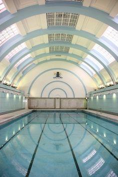 Marshall Street Pool in Soho.