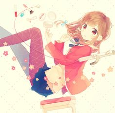 Pretty Anime Girls