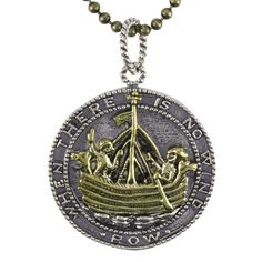 When There is No Wind, Row Charm Necklace | The Catholic Company