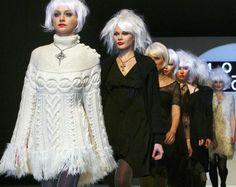 "Minoru Adachi's ""MODE ACOTE"" collection at Japan Fashion Week in Tokyo. Photo: AP"