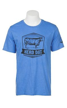 Mason Jar Label Blue Herd Dat T-Shirt | Cavender's