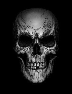 I love Art ,Horror and other nice things. Skull Tattoo Design, Skull Design, Skull Tattoos, Body Art Tattoos, Tatouage Rock And Roll, Desenho New School, Badass Skulls, Brust Tattoo, Sugar Skull Tattoos