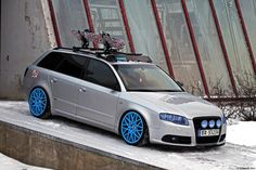 Audi Wagon | Ready For The Snow