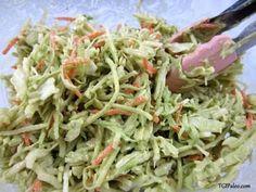No-Mayo Avocado Slaw (Paleo, Raw, Vegan) – fastPaleo