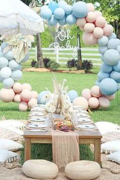 Take a look at this adorable teddy bear boho baby shower! The party decoration sare gorgeous! See more party ideas and share yours at CatchMyParty.com Shower Party, Baby Shower Parties, Teddy Bear Baby Shower, Boho Baby Shower, Party Activities, Party Planning, Party Favors, Birthday Parties, Diaper Parties