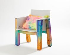 Watercolors Chair / Fredrik Paulsen