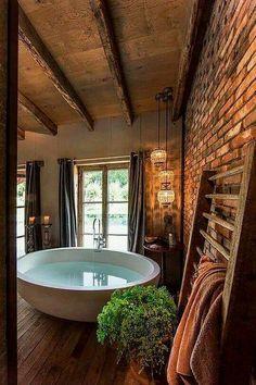 Exellent Cabin Style Interior Idea (60)