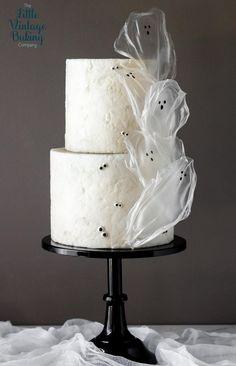 Halloween Snacks, Bolo Halloween, Halloween Cakes, Wafer Paper Cake, Paper Cupcake, Cupcake Cakes, Cake Decorating Techniques, Cake Decorating Tips, Cookie Decorating