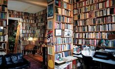 I've always wanted a home library full of books, lots of books. I Love Books, Books To Read, Amazing Books, Enough Book, Future Library, Storing Books, Beautiful Library, Personal Library, Home Libraries