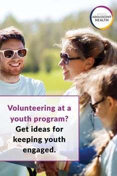 Programs that partner with youth have a greater impact. Check out the Game Plan for Engaging Youth from Adolescent Health: Think, Act, Grow®️ (TAG) and the HHS Office of Adolescent Health. Youth Programs, Adolescence, Mirrored Sunglasses, Acting, How To Plan, Game, Health, Check, Girls