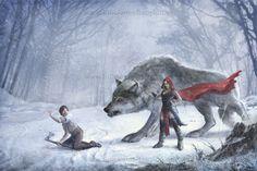 Little Red Ridding Hood, de #MartaNael #tales