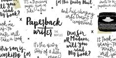 Blog Script is, obviously, a script font family with a handwriting touch created by Carolina Marando with Alejandro Paul and published by Sudtipos