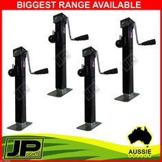 4X TRAILER CARAVAN JACK STAND 2267KG RATED HEAVY DUTY SWIVEL STABILIZER LEGS in Vehicle Parts & Accessories, Trailer Parts | eBay