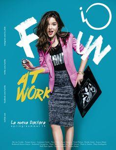 "iO ""Fun at Work"" Spring/Summer 2015 on Behance Web Design, Graphic Design Trends, Email Design, Graphic Design Posters, Graphic Design Inspiration, Creative Design, Layout Inspiration, Creative Advertising, Advertising Design"