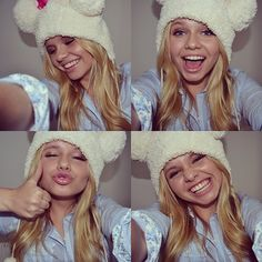 Alli Simpson she is a role model to girls all over including me. She is not afraid to be herself.