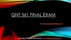 Get instant help for QNT 561 Final Exam Questions with Answers (University of Phoenix). We specialize in providing you the correct answers for the course. Exam Answer, Question And Answer, This Or That Questions, Got Online, Online Help, Final Exams, Finals, Phoenix, University