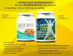 Presume de figura con el pack quemagrasas Extrem ¡Con Café Verde + L-Carnitina, los devoragrasas más eficaces!