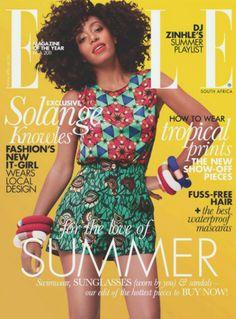 Solange Knowles ELLE South Africa Nov 2012