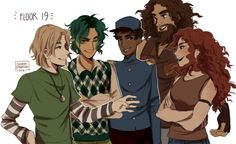 Image result for floor 19 magnus chase