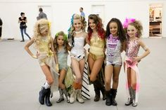 Dance Moms girls | Young dancers from US reality show Dance Moms.