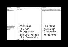 Naranjo—Etxeberria: Cine365films | North East Minimalist Graphic Design, Graphic Design Trends, Graphic Design Posters, Graphic Design Inspiration, Design Ideas, Brand Presentation, Presentation Layout, Editorial Design, Editorial Layout