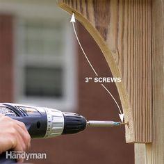 How to Build a Timber Frame Garden Arbor   The Family Handyman