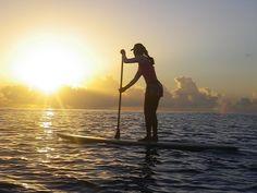 Stand up paddle e surf de graça