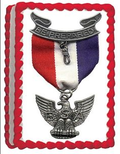 Eagle Scout Personalized Edible Cake Topper by TastyTopperDesigns
