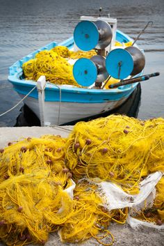 Ready to go fishing - Mytilini, Lesvos Island, Greece Greek Blue, Chios, Greece Islands, The Other Side, Mellow Yellow, Greece Travel, Beautiful Islands, Athens, Corfu