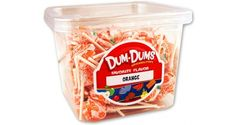 Dum Dum Pops - Orange
