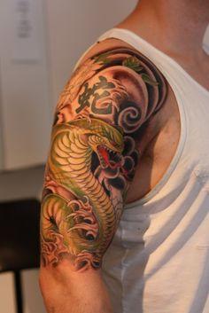Half Sleeve Modern Japanese Tattoo For Men 3 4 Sleeve Asian with size 1067 X 1600 Half Sleeve Tattoos For Men Japanese - Tiger tattoos aren't only Tattoos For Guys Badass, Half Sleeve Tattoos For Guys, Small Tattoos For Guys, Cool Small Tattoos, Cool Arm Tattoos, Tribal Sleeve Tattoos, Best Sleeve Tattoos, Awesome Tattoos, Christian Sleeve Tattoo