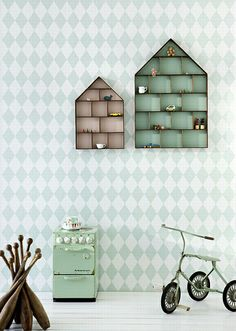 mint green by the style files, via Flickr