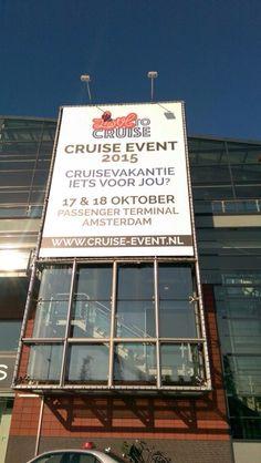 Hij hangt er weer mooi bij! Op naar het Cruise Event! Kom je ook? 17 & 18 oktober in de Passenger Terminal Amsterdam! Letter Board, Amsterdam, Cruise, Events, Lettering, October, Seeds, Cruises, Drawing Letters