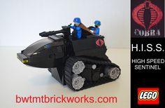 Custom Range Viper Gi Joe Cobra minifigures on lego bricks gijoe g i joe army