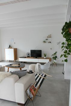 Living Room | scandinavian interior | We Heart Home