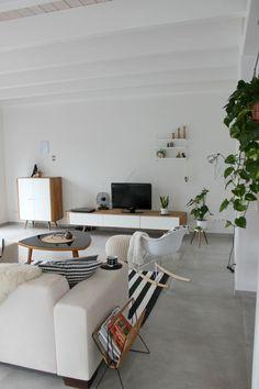 Living Room | scandinavian interior | We Heart Home