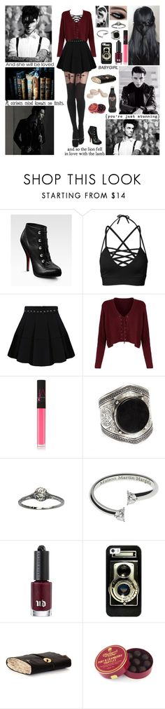 """""""❤ All you young wild girls you make a mess of me. Yeah, you young wild girls, you'll be the death for me. All you young wild girls no matter what you do.  Yeah, you young wild girls, I'll always come back to you. ❤"""" by blueknight ❤ liked on Polyvore featuring Christian Louboutin, NARS Cosmetics, Maison Margiela, Urban Decay and Casetify"""