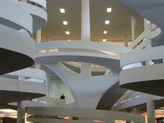 Matarazzo Pavilion by Oscar Niemeyer (1907-2012)