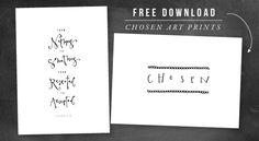free printable art prints / jones design company