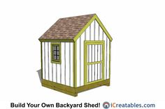 cape cod garden shed plans front 6x8 Shed, 8x12 Shed Plans, Shed Floor Plans, Diy Shed Plans, Cabin Plans, Rubbermaid Storage Shed, Wood Storage Sheds, Storage Shed Plans, Firewood Storage