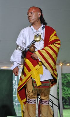 From Colonial Williamsburg 's Cherokee Week performance of The Beloved Woman HAHAHAA My buddy Kody :)