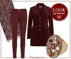 #Burgund #Herbst #Fashion #bevonboch