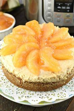 Instant Pot Apple Cheesecake Köstliche Desserts, Best Dessert Recipes, Apple Recipes, Baking Recipes, Holiday Recipes, Delicious Desserts, Easy Recipes, Sweets Recipes, Steak Recipes