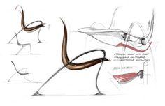 Mercedes-Benz Style de design de mobilier croquis 05.05.2010