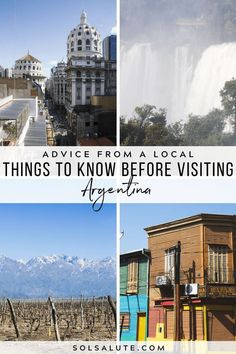 10 Things to Know Before Visiting Argentina — Sol Salute Argentina South America, Visit Argentina, Argentina Travel, South America Destinations, South America Travel, Machu Picchu, Places To Travel, Travel Destinations, Africa Destinations